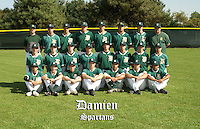 Damien High School baseball team photo.