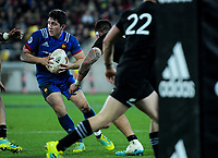 France's Anthony Belleau in action during the Steinlager Series international rugby match between the New Zealand All Blacks and France at Westpac Stadium in Wellington, New Zealand on Saturday, 16 June 2018. Photo: Dave Lintott / lintottphoto.co.nz