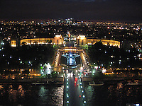 Trocadero from the Eiffel Tower