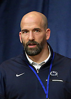 PHILADELPHIA, PA - NOVEMBER 18: Assistant wrestling coach Casey Cunningham of the Penn State Nittany Lions during the Keystone Classic on November 18, 2018 at The Palestra on the campus of the University of Pennsylvania in Philadelphia, Pennsylvania. (Photo by Hunter Martin/Getty Images) *** Local Caption *** Casey Cunningham