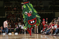 STANFORD, CA - JANUARY 16:  The Stanford Tree mascot during Stanford's 66-51 win over the Washington Huskies on January 16, 2010 at Maples Pavilion in Stanford, California.