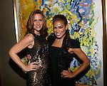 Amy Trucks and Actress Toni Trucks Theia Spring 2014 Presentation Held at the New York Palace, NY