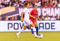 PHILADELPHIA, PA - AUGUST 29: Silvia Rebelo #4 of Portugal dribbles during a game between Portugal and the USWNT at Lincoln Financial Field on August 29, 2019 in Philadelphia, PA.