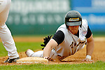 18 May 2006: Kyle Brault,  a University of Vermont Senior from Milton, VT, dives safely back to first during a game against the University of Maine Black Bears, at Historic Centennial Field, in Burlington, Vermont...Mandatory Photo Credit: Ed Wolfstein Photo.