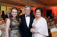 Pictured  at the IHF Ball in the Muckross Park Hotel at the weekend were Michelle, Michael and Geraldine Rosney, Killeen House Hotel, Killarney.<br /> Photo: Don MacMonagle<br /> <br /> Repro free photo