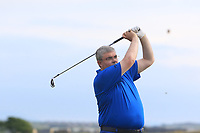 Alan Dowling (Hermitage) on the 15th tee during Round 3 of the East of Ireland Amateur Open Championship 2018 at Co. Louth Golf Club, Baltray, Co. Louth on Monday 4th June 2018.<br /> Picture:  Thos Caffrey / Golffile<br /> <br /> All photo usage must carry mandatory copyright credit (&copy; Golffile | Thos Caffrey
