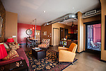 A suite at The Redbury Hotel, an SBE property in Hollywood, Los Angeles, CA