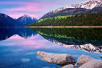 Wallowa Lake sunrise. Oregon