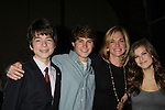 """Blair's and Kassie's Kids"" - One Life To Live  JQ Depaiva, Andrew Trischitta, Kassie DePaiva, Kelley Missal at 18th Annual Feast to benefit Center for Hearing and Communications (CHC) on October 24, 2011 at Chelsea Pier 60, New York City, New York.  (Photo by Sue Coflin/Max Photos)"