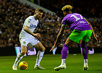 Leeds United's Stuart Dallas takes on Bristol City's Lloyd Kelly<br /> <br /> Photographer Alex Dodd/CameraSport<br /> <br /> The EFL Sky Bet Championship - Leeds United v Bristol City - Saturday 24th November 2018 - Elland Road - Leeds<br /> <br /> World Copyright &copy; 2018 CameraSport. All rights reserved. 43 Linden Ave. Countesthorpe. Leicester. England. LE8 5PG - Tel: +44 (0) 116 277 4147 - admin@camerasport.com - www.camerasport.com