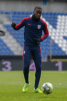Hasselt, Belgium - Monday November 19, 2018: The USMNT trains in preparation before an international friendly against Italy.