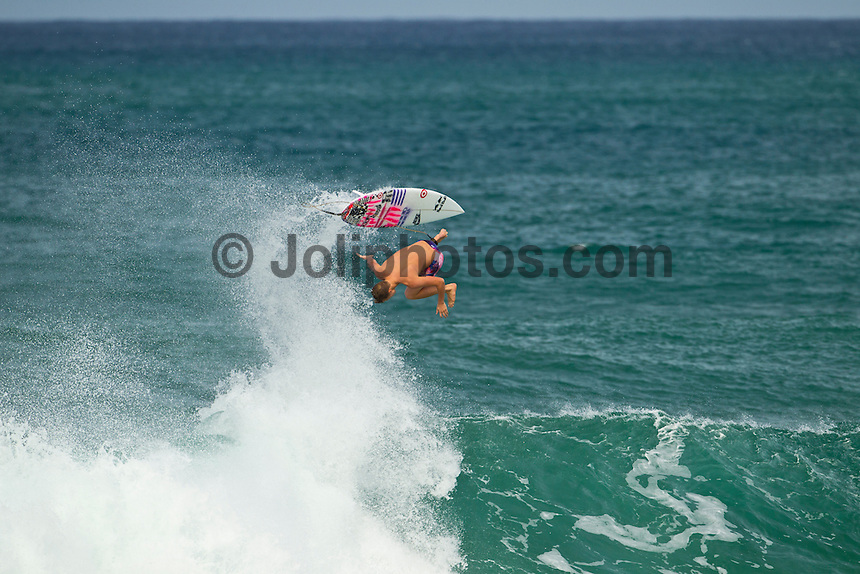 North Shore/Oahu/Hawaii (Saturday, December 3, 2011) Kolohe Andino (USA) during a free surfing session in 4'-6' waves at Off The Wall  and Backdoor on the North Shore.. Photo: joliphotos.com