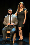 "Liberto Rabal and Adriana Davidova during the theater play of ""Hacia el amor"" at Teatros Luchana in Madrid, March 01, 2016<br /> (ALTERPHOTOS/BorjaB.Hojas"