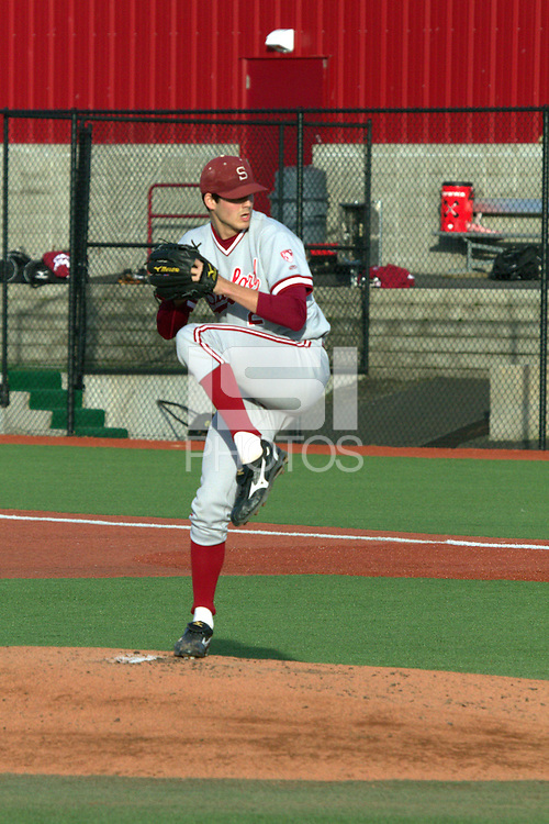 PULLMAN, WA-April 1, 2011:  Stanford player Mark Appel in a game against Washington State University in Pullman, Washington.  Stanford lost the game 10-8.
