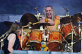 IRON MAIDEN - Nick McBrain - performing live on Day Three on the Lemmy Stage at the Download Festival at Donington Park UK - 12 Jun 2016.  Photo credit: Zaine Lewis/IconicPix
