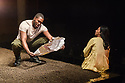 "Bush Theatre presents ""AN ADVENTURE"", by Vinay Patel. Directed by Madani Younis, with design by Rosanna Vize. The cast is: Nila Aalia, Martins Imhangbe, Aysha Kala, Selva Rasalingam, Shubham Saraf and Anjana Vasan. Picture shows: Martins Imhangbe, Anjana Vasan."