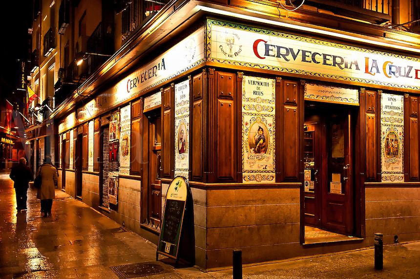 Cerveceria La Cruz de Malta, Madrid, Spain