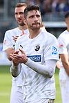 Tim Kister (Nr.14, SV Sandhausen) nach dem Spiel  beim Spiel in der 2. Bundesliga, SV Sandhausen - FC St. Pauli.<br /> <br /> Foto © PIX-Sportfotos *** Foto ist honorarpflichtig! *** Auf Anfrage in hoeherer Qualitaet/Aufloesung. Belegexemplar erbeten. Veroeffentlichung ausschliesslich fuer journalistisch-publizistische Zwecke. For editorial use only. For editorial use only. DFL regulations prohibit any use of photographs as image sequences and/or quasi-video.