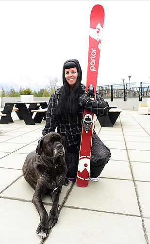Enzo and Carey at Revelstoke<br />   Cane Corse and Bull Mastiff... 170