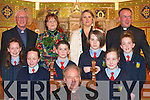 Pupils from Curranes National School, who were confirmed by Bishop Bill Murphy in St Stephen & Johns Church, Castleisland, on Thursday..