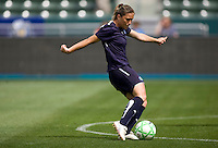 LA Sol's Camille Abily. The LA Sol defeated the Washington Freedom 2-0 in the opening game of Womens Professional Soccer at Home Depot Center stadium on Sunday March 29, 2009.  .Photo by Michael Janosz