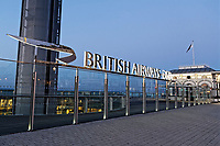 The British Airways i360 in Brighton, East Sussex, England UK. Saturday 24 February 2018
