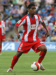 Atletico de Madrid's Cleber Santana during La Liga match. April 27 2008. (ALTERPHOTOS/Acero).
