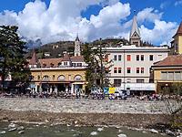 Winterpromenade, Meran-Merano, Bozen &ndash; S&uuml;dtirol, Italien<br /> Winter promenade, Meran-Merano, province Bozen-South Tyrol, Italy