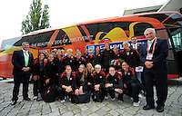 USWNT Arrival in Dresden, June 23, 2011