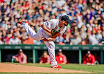 22 June 2019: Boston Red Sox starting pitcher Brian Johnson on the mound in the first inning against the Toronto Blue Jays at Fenway :Park in Boston, MA. The Blue Jays rallied to defeat the Red Sox 8-7 in the 2nd game of their 3-game series. Mandatory Credit: Ed Wolfstein Photo *** RAW (NEF) Image File Available ***