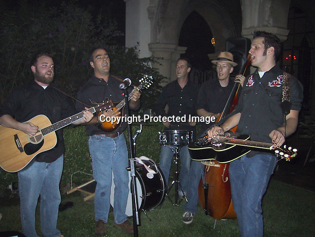Folk Music Band.ABSOLUT STELLA.ABSOLUT and Famed Fashion Designer Stella McCartney Colaborate To Create Exclusive New Advertising Campaign.Chateau Marmont Hotel.West Hollywood, CA, USA.Thursday, October 17, 2002.Photo By Celebrityvibe.com