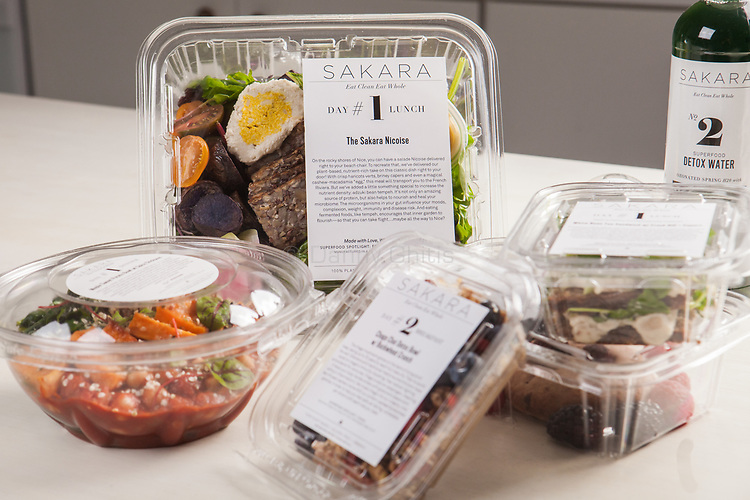A variety of meals from Sakara Life, which come prepared and packaged.<br /> <br /> Danny Ghitis for The New York Times