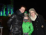 Sinead and Ruby Fitzsimons and Emma Mitchell at the flame of Slane celebrations. Photo:Colin Bell/pressphotos.ie
