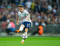 Tottenham's Kieran Trippier during the EPL - Premier League match between Tottenham Hotspur and Newcastle United at Wembley Stadium, London, England on 9 May 2018. Photo by Andrew Aleksiejczuk / PRiME Media Images.