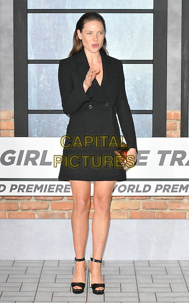 Rebecca Ferguson at the &quot;The Girl on the Train&quot; world film premiere, Odeon Leicester Square cinema, Leicester Square, London, England, UK, on Tuesday 20 September 2016.<br /> CAP/CAN<br /> &copy;CAN/Capital Pictures