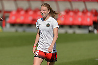 Bridgeview, IL - Sunday June 12, 2016: Emily Sonnett during a regular season National Women's Soccer League (NWSL) match between the Chicago Red Stars and the Portland Thorns at FC Toyota Park.