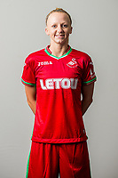 Wedensday 26 July 2017<br />Pictured: Stacey Webber<br />Re: Swansea City Ladies Squad 2017- 2018 at the Liberty Stadium, Wales, UK