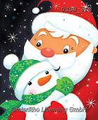 Sarah, CHRISTMAS SANTA, SNOWMAN, WEIHNACHTSMÄNNER, SCHNEEMÄNNER, PAPÁ NOEL, MUÑECOS DE NIEVE, paintings+++++SantaSnowkid-18-B,USSB615,#x#