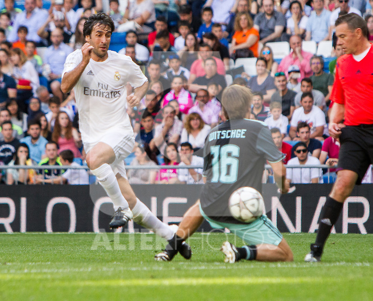 Raul Gonzalez during the Corazon Classic Match 2016 at Estadio Santiago Bernabeu between Real Madrid Legends and Ajax Legends. Jun 5,2016. (ALTERPHOTOS/Rodrigo Jimenez)