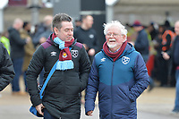 Fan's arrive during West Ham United vs Arsenal, Premier League Football at The London Stadium on 12th January 2019