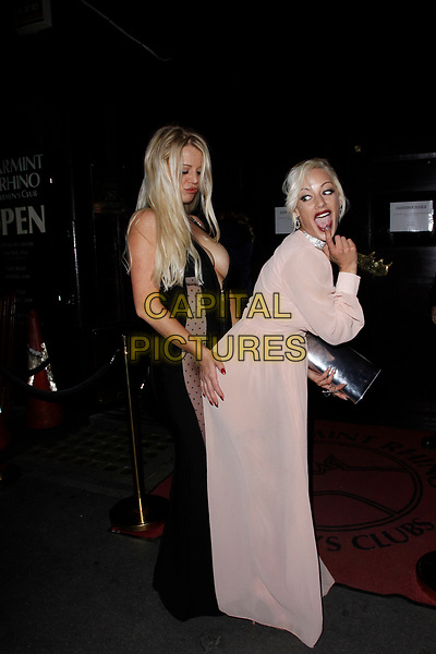 LONDON, ENGLAND - SEPTEMBER 14 :  Lexi Luxe and Lou Lou Petite attend the UK Glamour Awards, at Spearmint Rhino Bloomsbury on September 14, 2017 in London, England.<br /> CAP/AH<br /> &copy;AH/Capital Pictures