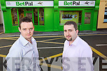 Shane Dwane and Stephen O'Brien Directors of BetPal, Castle Street, Tralee.