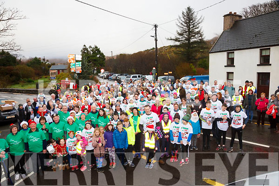 Caherdaniel & the wider community of South Kerry came out in force to support the O'Donoghue family for the 5 & 8K Reindeer Fun Run Walk in aid of the Irish Motor Neuron Disease Association on the 23rd December.