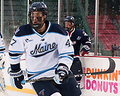 Mark Hamilton (Maine - 47) - The University of Maine Black Bears defeated the University of Connecticut Huskies 4-0 at Fenway Park on Saturday, January 14, 2017, in Boston, Massachusetts.