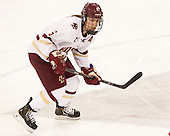Alex Carpenter (BC - 5) -  The Boston College Eagles defeated the visiting Boston University Terriers 5-0 on BC's senior night on Thursday, February 19, 2015, at Kelley Rink in Conte Forum in Chestnut Hill, Massachusetts.