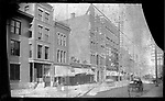 Frederick Stone negative. Bank Street. <br />