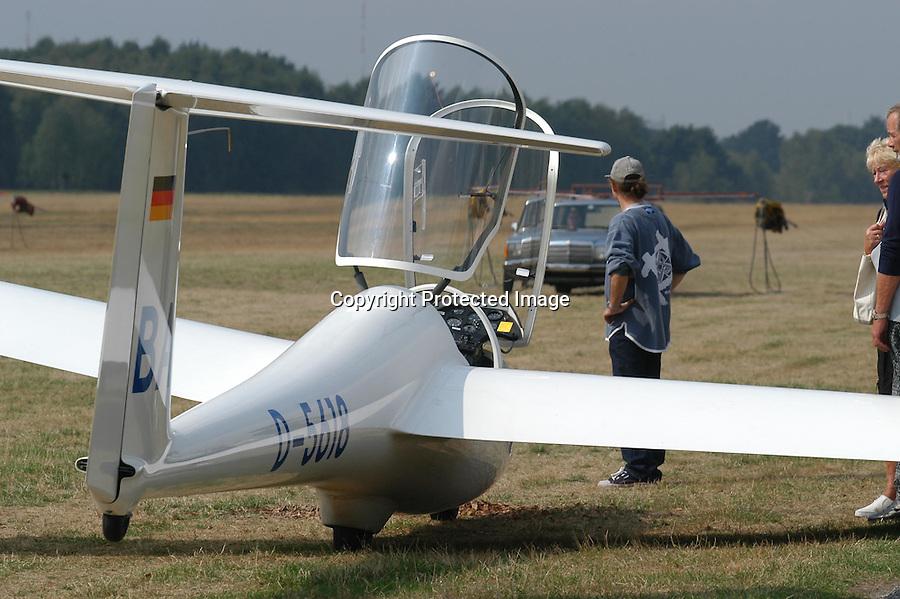 Segelflugzeug, ASK 21, Haubenöffnung
