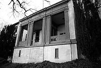Abandoned sanitarium, 1987.  &amp;#xA;<br />