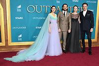 "13 February 2020 - Los Angeles, California - Sophie Skleton, Richard Rankin, Caitriona Balfe, Sam Heughan. ""Outlander"" Season 5 Los Angeles Premiere held at the Hollywood Palladium. Photo Credit: Birdie Thompson/AdMedia"