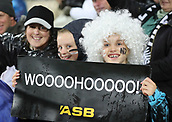 9th September 2017, Yarrow Stadium, New Plymouth. New Zealand; Supersport Rugby Championship, New Zealand versus Argentina; Fans hold signs up before the game